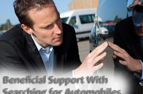 Beneficial Support With Searching for Automobiles