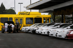 Hertz Car Rental Business Account